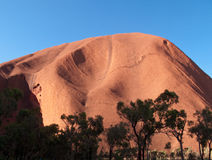 Ayers Rock in Australia Royalty Free Stock Photos