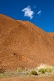 Ayers Rock, Northern Territory, Australia. Detail of the Ayers Rock National Park, Northern Territory, Australia Royalty Free Stock Photo