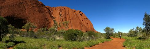 Ayers Rock, Northern Territory, Australia Stock Images