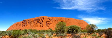 Ayers Rock, Northern Territory, Australia Royalty Free Stock Photography