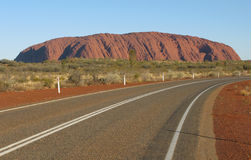 Ayers Rock-Uluru Stock Images