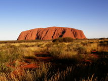 Ayers Rock (Uluru) Royalty Free Stock Images