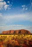 Ayers Rock. (Uluru) in AUSTRALIA Royalty Free Stock Photos