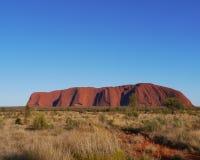 Ayers rock or Uluru Stock Photos