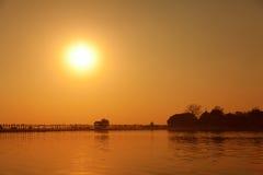 Ayeyarwady River, Mandalay Stock Images