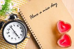 Ayez un beau jour Image libre de droits