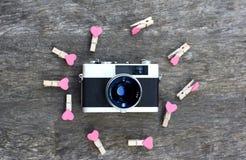 Ayez un beau jour Fond en bois Photographie stock libre de droits