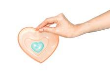 Ayez un coeur. Image stock