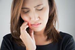 Ayez un mal de dents Photographie stock libre de droits