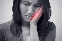 Ayez un mal de dents image stock
