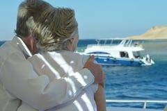 Ayez un tour dans un bateau Photographie stock
