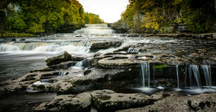 Aysgarth falls, Yorkshire Dales, UK. Aysgarth Falls in the Yorkshire Dales National Park, North Yorkshire, UK Stock Image