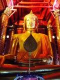 Ayhuttaya, Thailand 24. August 2014: Buddhismusbild und -religion Lizenzfreie Stockfotos