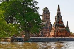Ayhutthya świątynie zdjęcie royalty free