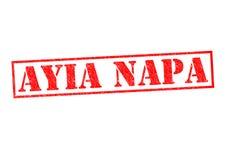 ayia早餐塞浦路斯旅馆napa seaview 库存照片