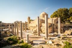 Ayia Kyriaki Chrysopolitissa church in Paphos, Cyprus Stock Image