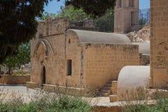 Ayia Napa修道院,塞浦路斯 免版税库存图片