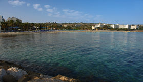 Ayia napa beach Stock Images