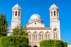 Ayia Napa cathedral. Limassol. Royalty Free Stock Image