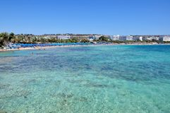 Ayia Napa, Cyprus Royalty Free Stock Photo