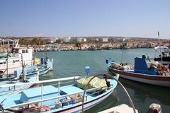Ayia Napa Harbor Cyprus royalty free stock photo