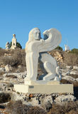 Ayia Napa International Sculpture Park, Cyprus royalty free stock photo