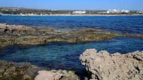 Ayia Napa kurort na wyspie Cypr zdjęcie wideo