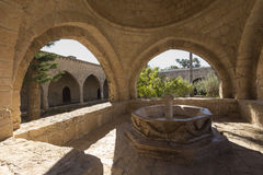 Ayia Napa Monastery, Cyprus. The cultural site most worth visiti Stock Image