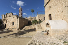 Ayia Napa Monastery, Cyprus. The cultural site most worth visiti Royalty Free Stock Images