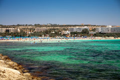 Ayia Napa resort Royalty Free Stock Image