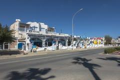 Ayia Napa street , Cyprus Stock Photo