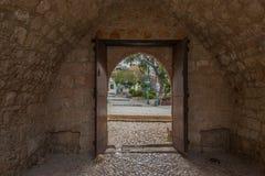 Ayia Nappa kloster Cypern Arkivfoton