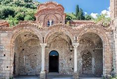 Ayia Sophia Bizantyjski Kościelny Mystras Obrazy Stock