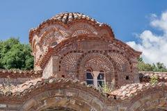 Ayia Sophia Byzantine Church Mystras Arkivfoto