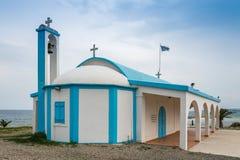 Ayia Thekla教会,塞浦路斯 免版税库存图片