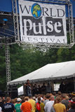 Ayiesha Woods at The Wolrd Pulse Festival Royalty Free Stock Photo