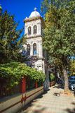 Ayios Panteleimon Greckokatolicki kościół w Kuzguncuk Zdjęcia Royalty Free