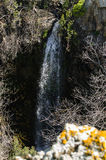 Ayit Waterfall (Eagle Falls) - Golan Heights Royalty Free Stock Image