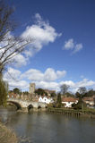 Aylesford. A view of Aylesford, an historic village in Kent England Stock Photography