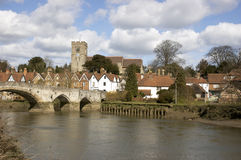 Aylesford. A view of Aylesford, an historic village in Kent England Royalty Free Stock Photo