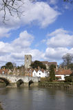 Aylesford. A view of Aylesford, an historic village in Kent England Royalty Free Stock Photography