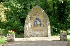 Aylesford Friars Shrine 2 Royalty Free Stock Photo