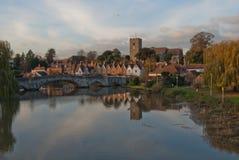 aylesford wioska medway rzeczna Obraz Royalty Free