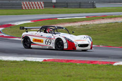 Aylezo motorsports merdeka endurance race Royalty Free Stock Photos