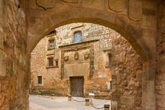 Ayllon, Espanha Fotografia de Stock Royalty Free