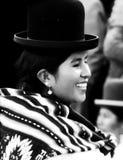 Aymara Cholita in Bolivia Stock Images