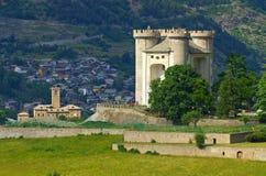 Aymavilles Castello Royalty Free Stock Image