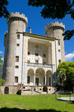 Aymavilles Castle. Italy Stock Image