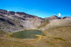 Aynali Gol ha rispecchiato il lago fotografie stock libere da diritti