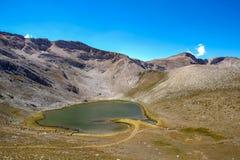 Aynali Gol odzwierciedlający jezioro zdjęcia royalty free